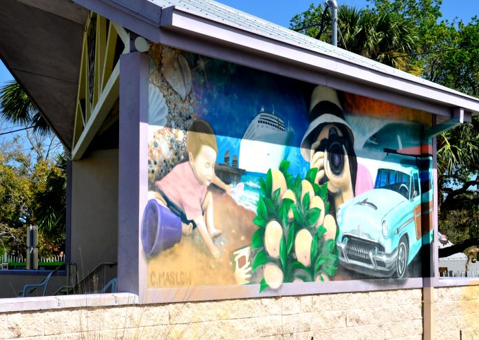 Eau Gallie Mural